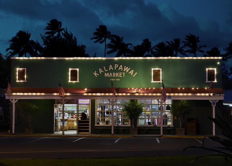 Kalapawai Market near Kailua Beach Park