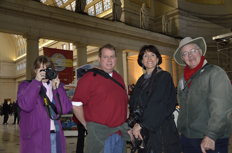 Kimberly and Others at Union Station Safari