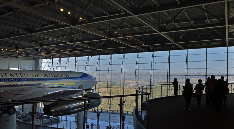 October 26: AF-1 at the Reagan Presidential Library