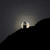 Full Moon and the Makapuu Lighhouse