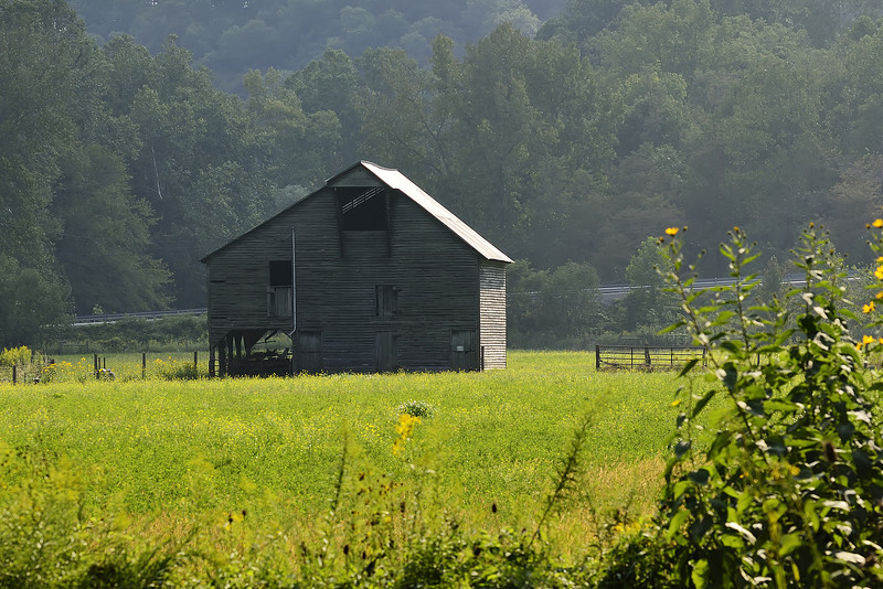 Barn Near Fork Mt Inn