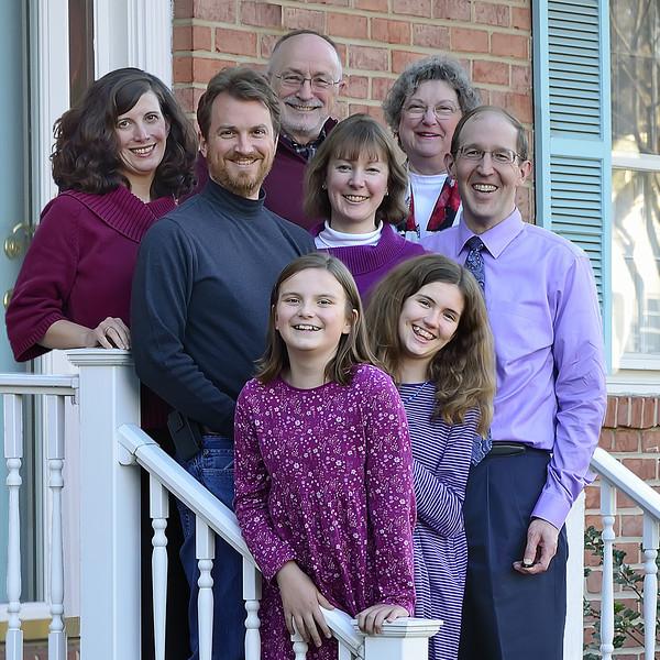 The Family Tree: Bob & Nancy, Kari & Mark, Kimberly & Jack, Manda & Lexi
