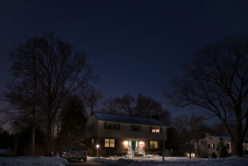 Orion  over Our Home