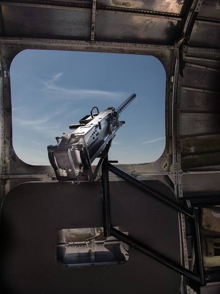 Waist Gunner Station on a B-24 (Nancy's Cousin Was at This Station When He was Shot Down Over Polland in WWII)