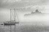 A Spielbergian Moment as a Giant Mother Ship Appears out of the Fog