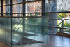 Equations Decorate the Glass at Regents Hall at Georgetown University