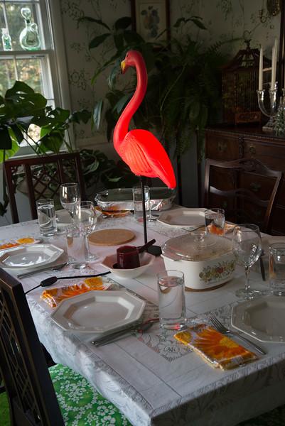 The Thanksgiving Flamingo