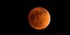 Fully Eclipsed Moon September 2015