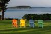 Adirondack Chairs at the Balanced Rock Inn