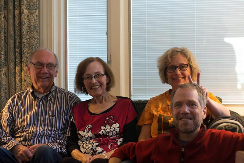 Emmett, Lani, Wendy & Jim
