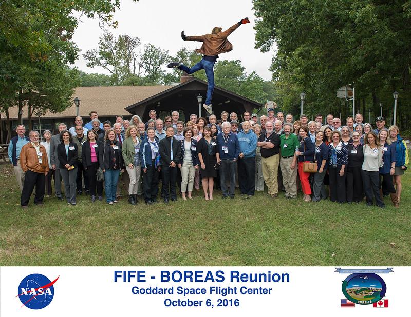 FIFE-BOREAS Reunion at NASA Goddard in October