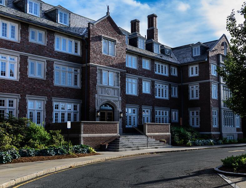 Riley Hall, Bob's Freshman Dorm at WPI in Worcester, Massachusetts