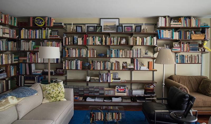 Kimberly and Jack's new Bookshelves