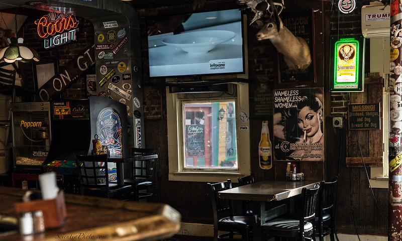 The Carpenter Street Saloon Oozes Character