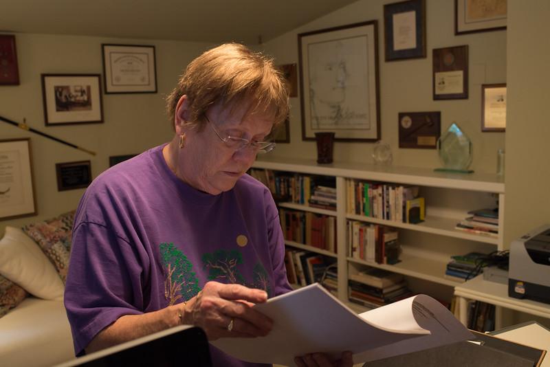 Mary Jo Barkley Anderson  at Lani's