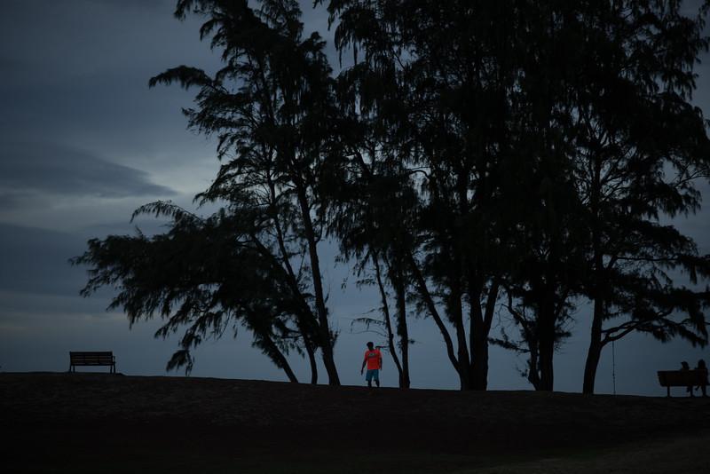 A Man at the Beach