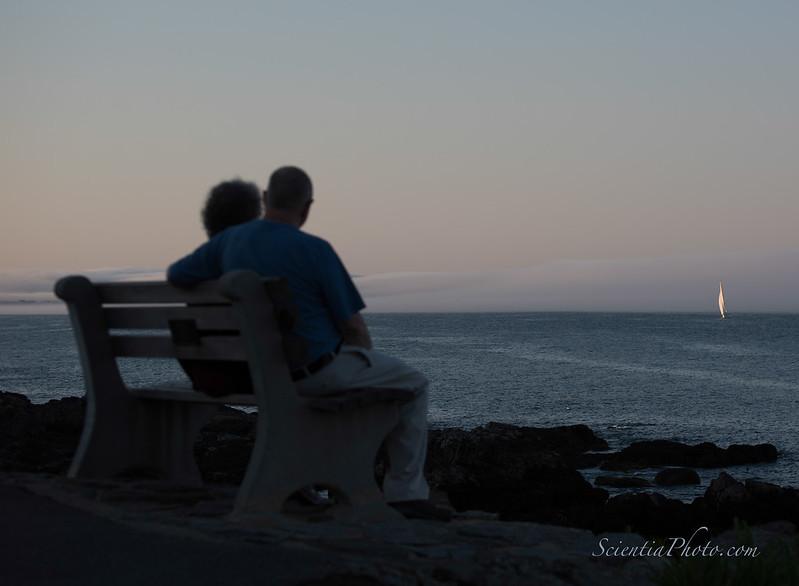 Nancy & Bob at Perkins Cove, Maine
