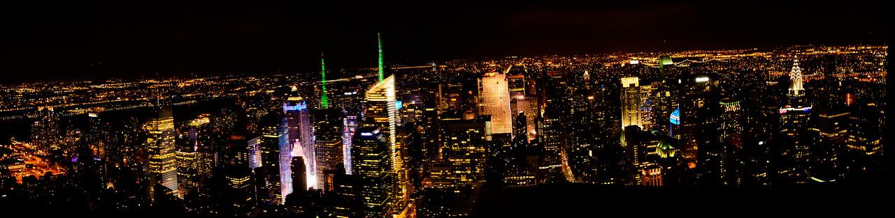 NYC-MTL Skylines