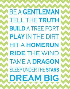 Gentleman Print BGW4