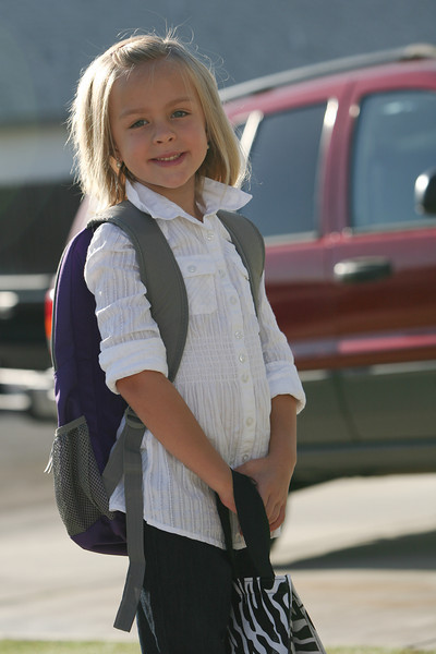 Makayla's First Day of 2nd Grade