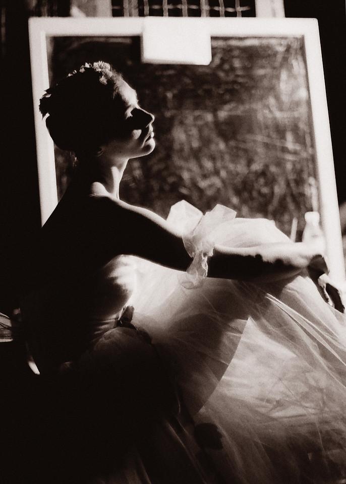 Ballerina of the Kirov Ballet at the Palais Garnier in Paris