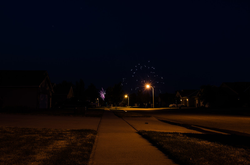 Free Firework Show