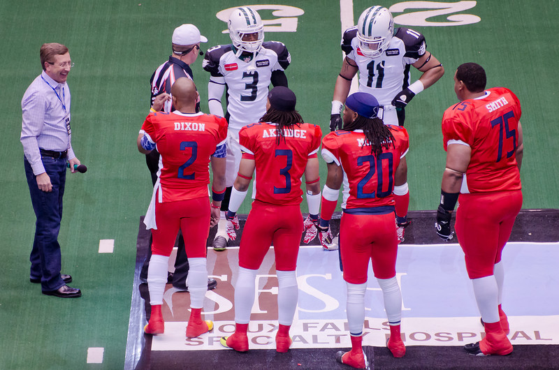 Coin Toss to Start the Game