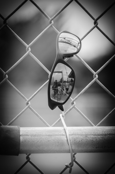 Behind the Fence on the First Inning
