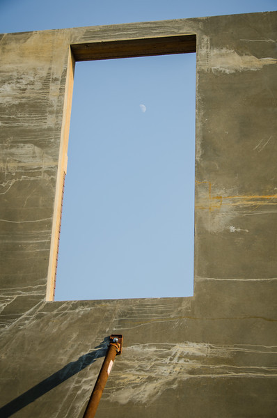 Window Leads to the Moon