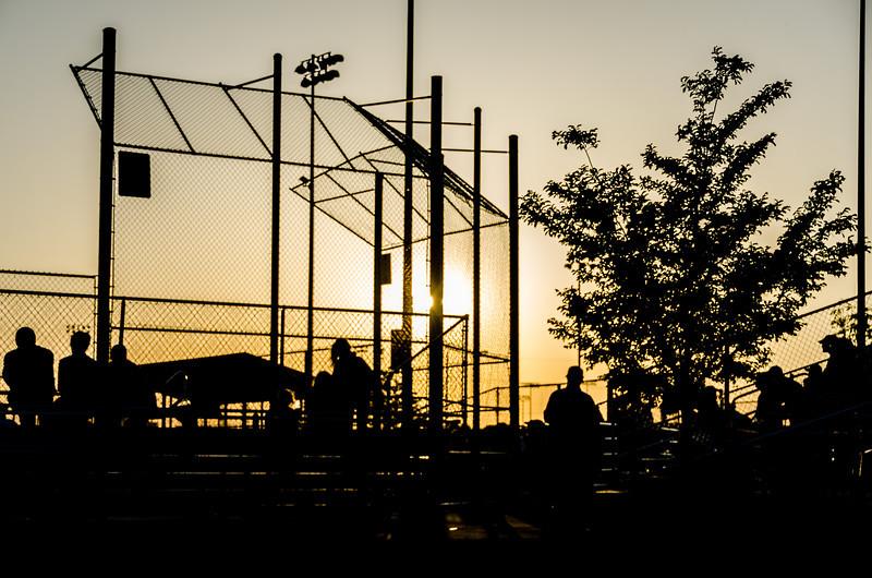 Sunset at the Ballpark