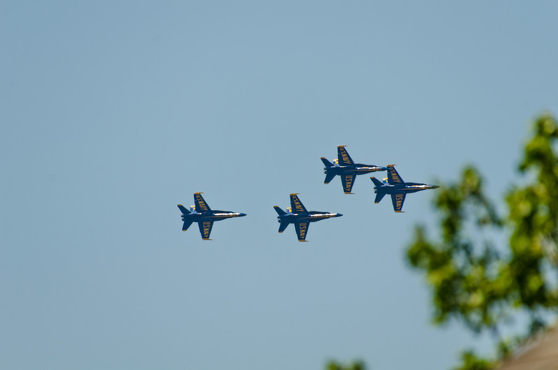 """Four in Formation  For the complete airshow photos, go to the <a href=""""http://smu.gs/MQFtVR"""">gallery</a> here: http://smu.gs/MQFtVR."""