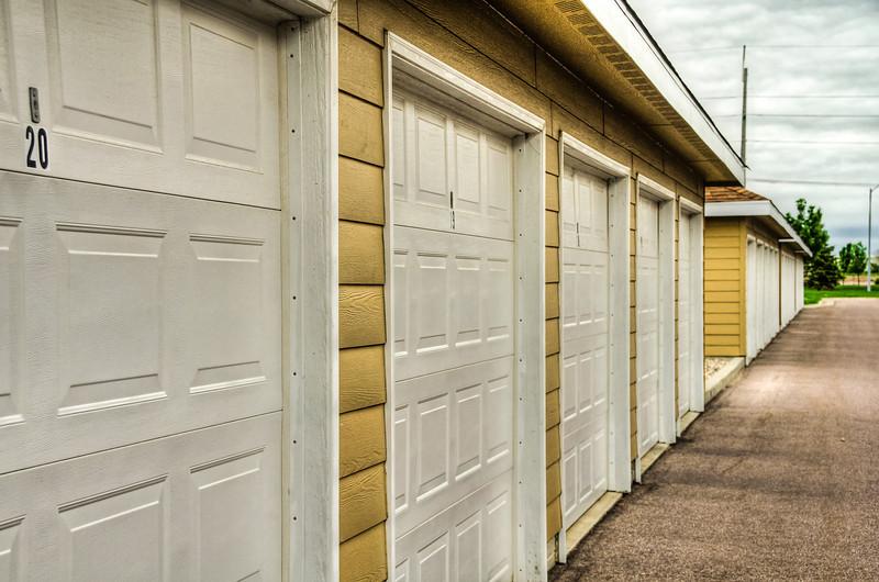 Twenty Garages in A Row