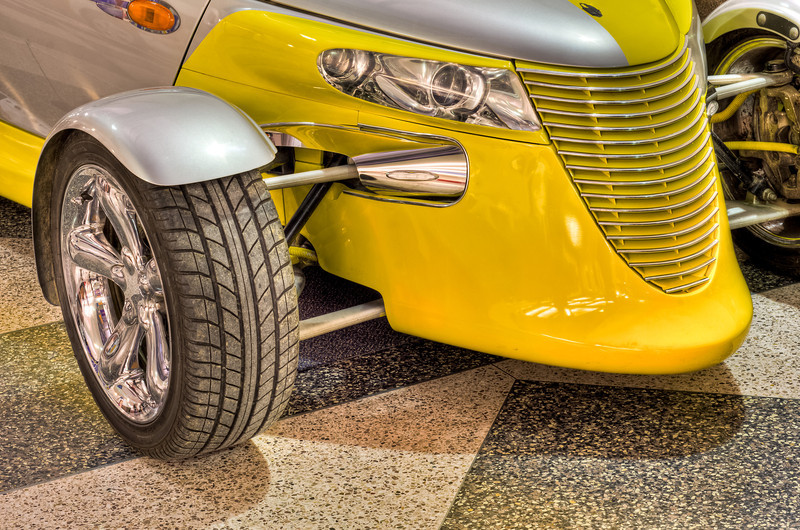 Yellow and Gray Prowler