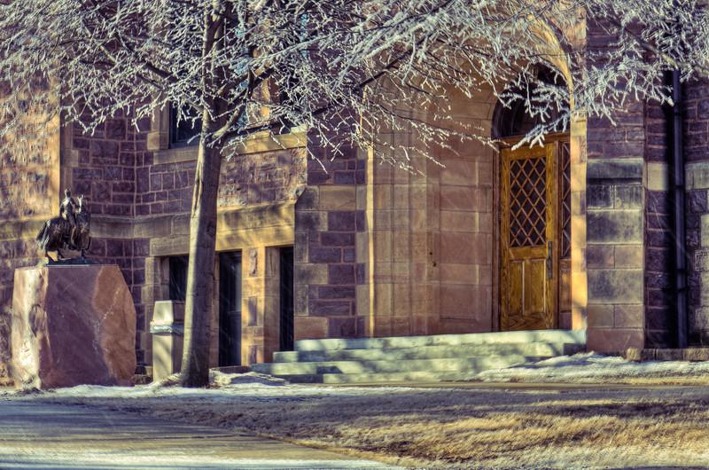 Jorden Hall Main Entrance