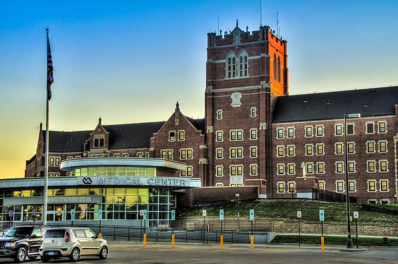 VA Medical Center Main Entrance