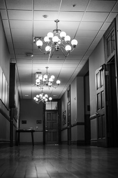 An Old Hallway