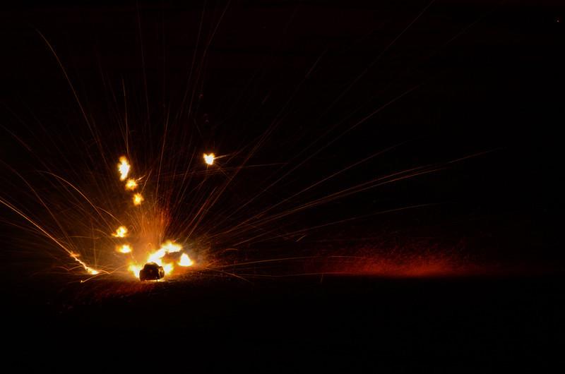 Exploding Tank