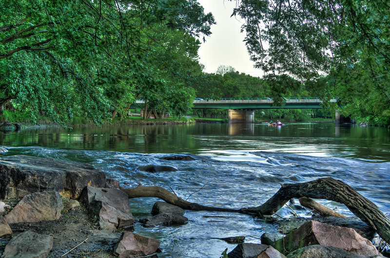 Canoeing Down the Big Sioux