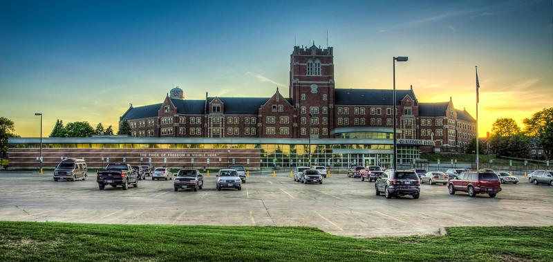 VA Medical Center Panorama