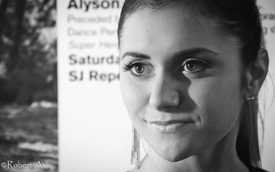 "Alyson Stoner in a thoughtful moment after the interview (1)  Alyson is Cinequest's 2011 Emerging Maverick Award (aka 'Maverick Award') recipient. Alyson currently plays in ""Phineas and Ferb"" on the Disney Channel. Alyson has played in films such as ""Cheaper By The Dozen [1&2]"" with Steve Martin, ""Step-Up [all 3 of them]"", ""That's So Raven"" and ""Drake and Josh"" among others. She has also performed as a dancer in Missy Elliott, Eminem, Will Smith and other artists' music videos."