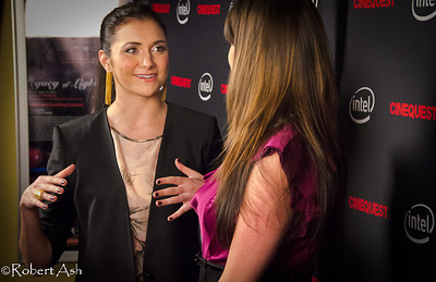 "Alyson Stoner being interviewed on the Red Carpet   Alyson is Cinequest's 2011 Emerging Maverick Award (aka 'Maverick Award') recipient. Alyson currently plays in ""Phineas and Ferb"" on the Disney Channel. Alyson has played in films such as ""Cheaper By The Dozen [1&2]"" with Steve Martin, ""Step-Up [all 3 of them]"", ""That's So Raven"" and ""Drake and Josh"" among others. She has also performed as a dancer in Missy Elliott, Eminem, Will Smith and other artists' music videos."