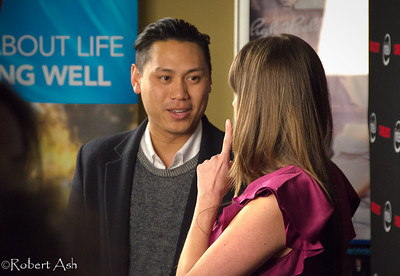 "Jon Chu, film director, screenwriter and cinematographer during Red Carpet interview. Jon was chosen to present the Maverick Award to Alyson Stoner.  Jon directed ""Step-Up 2"", ""Step-Up 3-D"", ""Justin Bieber: Never Say Never"", ""G.I. Joe 2"" and other films, and was the screenwriter for his first two films, ""Silent Beats"" and ""When the Kids are Away""."