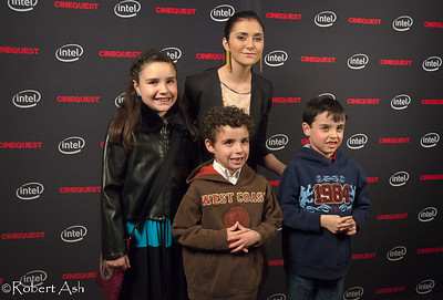 "Alyson Stoner posing with young fans  Alyson is Cinequest's 2011 Emerging Maverick Award (aka 'Maverick Award') recipient. Alyson currently plays in ""Phineas and Ferb"" on the Disney Channel. Alyson has played in films such as ""Cheaper By The Dozen [1&2]"" with Steve Martin, ""Step-Up [all 3 of them]"", ""That's So Raven"" and ""Drake and Josh"" among others. She has also performed as a dancer in Missy Elliott, Eminem, Will Smith and other artists' music videos.  Alyson loves to meet her young fans and enjoys interacting with them."