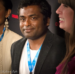 "Portrait of award-winning director Rohan Fernando, director of the film ""Snow"".  ""Snow"", being shown at Cinequest Film Festival 2011, is a touching film about a Sri Lankan woman who lost everything in the great tsunami, moved to Halifax, Nova Scotia, Canada to rebuild her life. Roland's personal visits to Sri Lanka after the tsunami, along with his own life experiences, helped inspire the story behind the film."