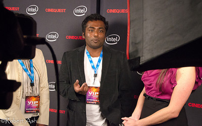 "Award-winning director Rohan Fernando, director of the film ""Snow"".  ""Snow"", being shown at Cinequest Film Festival 2011, is a touching film about a Sri Lankan woman who lost everything in the great tsunami, moved to Halifax, Nova Scotia, Canada to rebuild her life. Roland's personal visits to Sri Lanka after the tsunami, along with his own life experiences, helped inspire the story behind the film."