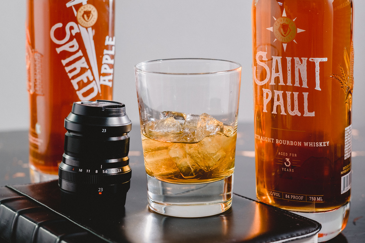 Panther Distillery Saint Paul Bourbon | Spiked Apple Whiskey