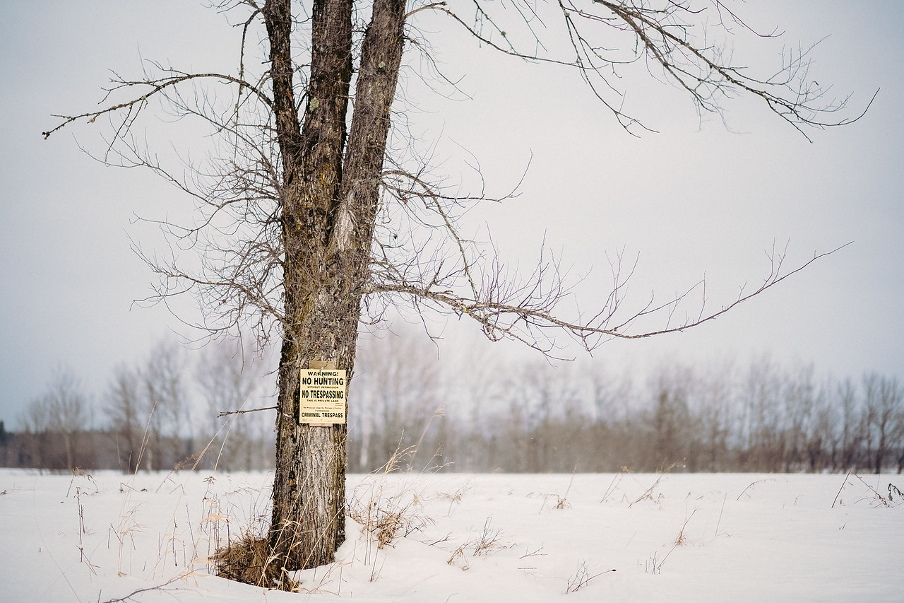 Sign post | Angora, MN