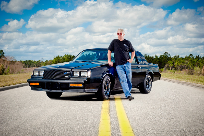 Uncle Bob and his Buick Grand National- Ormond Beach, FL