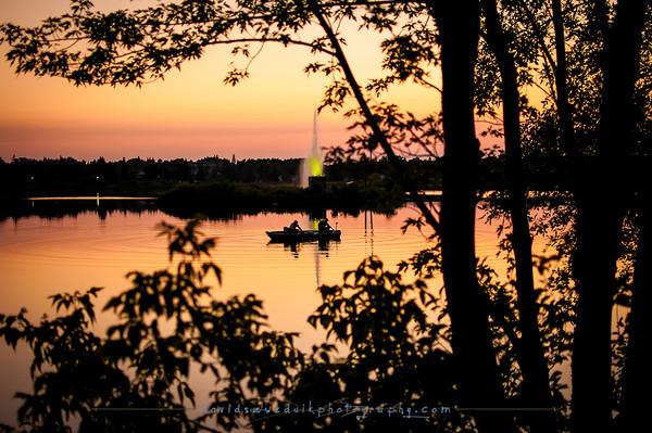 Sunset Fishing 2.0