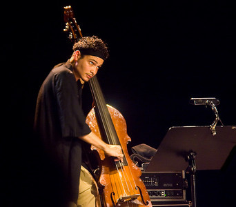 Luques Curtis, bassist, Christian Scott quartet